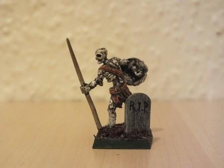 back of finished Skeleton